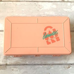 Vintage Caboodles Mini 2-Sided Divided Organizer